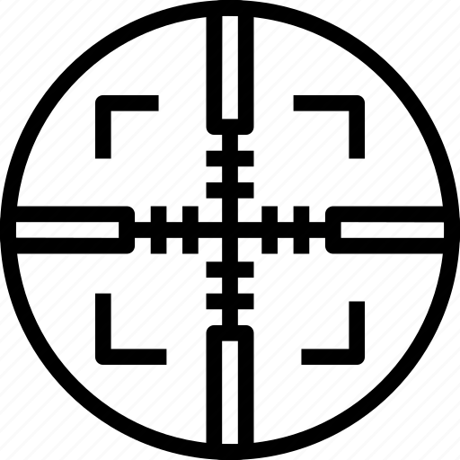 circle, mark, square, target icon