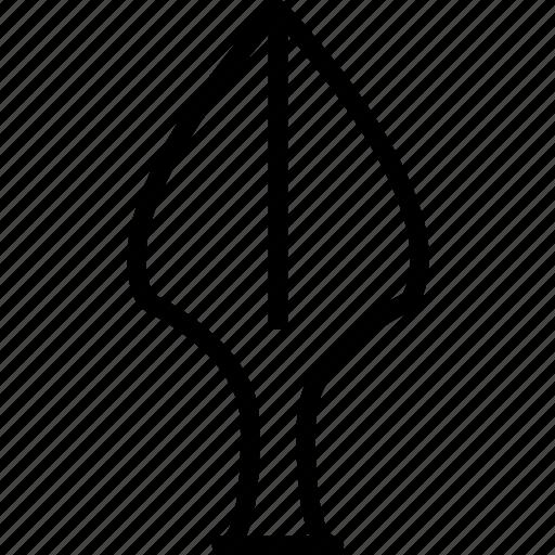 head, polearm, spear, weapon icon