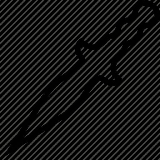 plain, sword, weapon icon