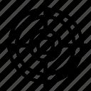 circle, double, mark, target