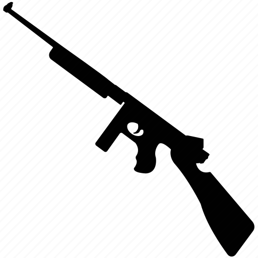gun, modern, shooter, submachine gun, weapon icon