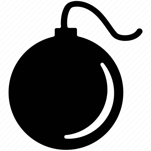 armaments, bomb, bombshell, plastic explosive, weapon icon