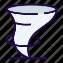 hurricane, storm, tornado icon