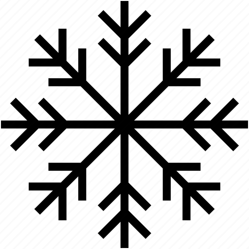 crystal flake, snow falling, snowflake, snowflake ornament, winter decoration icon