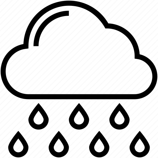 aining, clouds, rain, rainy climate, weather icon