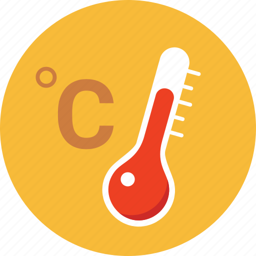 centigrade, forecast, hot, temperature, thermometer, warning, weather icon