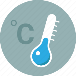 centigrade, cold, forecast, temperature, thermometer, warning, weather icon