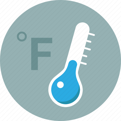 cold, fahrenheit, forecast, temperature, thermometer, warning, weather icon