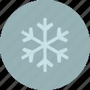 forecast, weather, winter, flake, snow icon