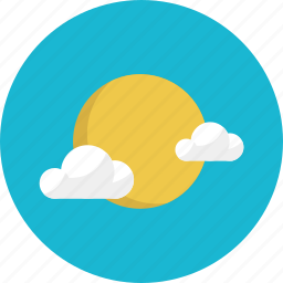clear, cloud, cloudy, forecast, sun, sunny, weather icon