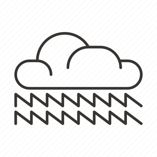 cloud, clouds, light, lightning, storm, weather icon