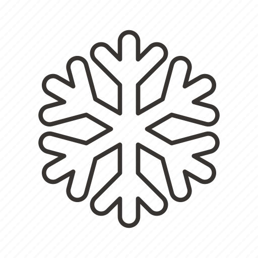 christmas, ice, snow, snowflake, weather, winter icon