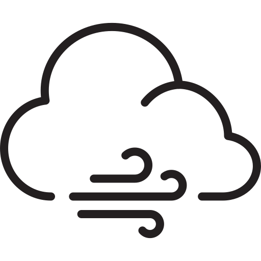 blast, cloud, weather, wind icon