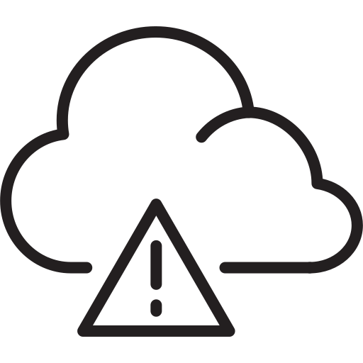 avalanche danger, caution, cloud, smoothness, weather icon