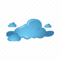 blue, cloud, cloudy, weather icon
