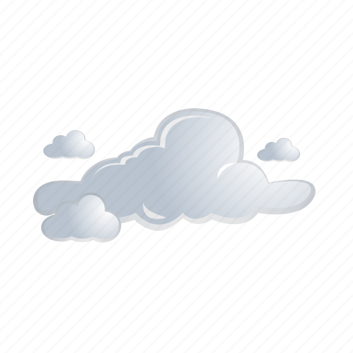 cloud, clouds, forecast, gray, weather icon