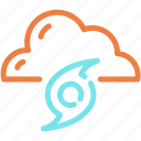 cloud, hurricane, storm, tornado, wind icon