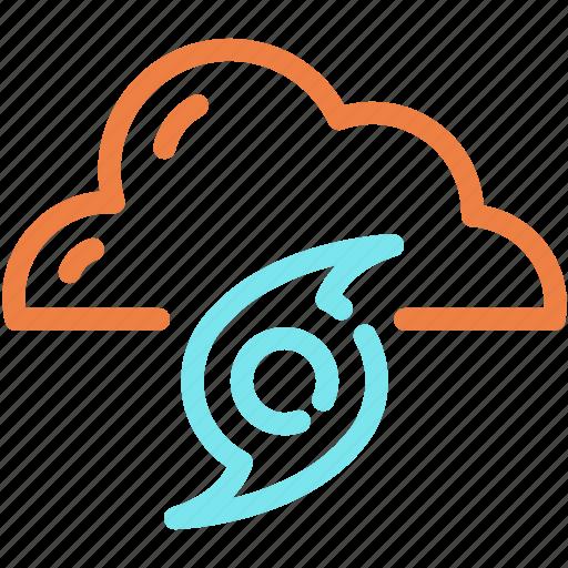 cloud, hurricane, storm, tornado, wind icon