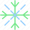 christmas, forecast, ice, snow, snowflake, winter icon