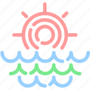 clean, day, forecast, morning, sun, sunrise, sunup icon