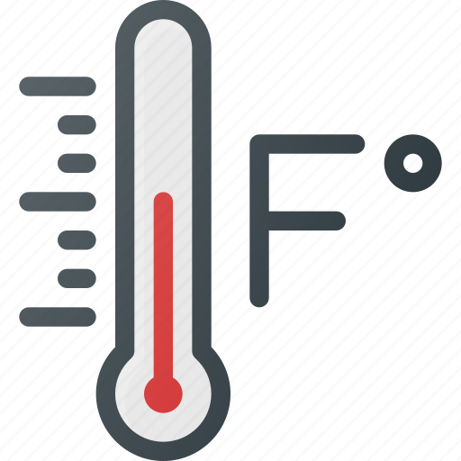 degree fahrenheit forcast temperature weather icon