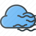 cloud, cloudy, fog, foggy, forcast, weather icon
