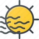 day, fog, foggy, forcast, weather icon