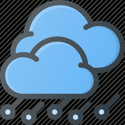 forcast, hailstorm, storm, weather icon