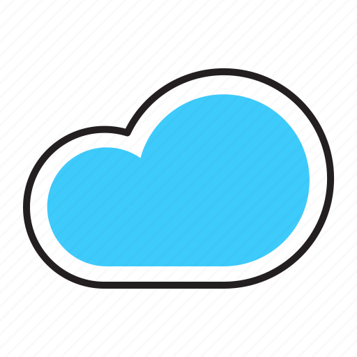 Climate, weather, cloud, cloudy, forcast icon