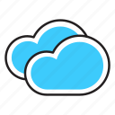 climate, cloud, clouds, cloudy, forcast, weather icon