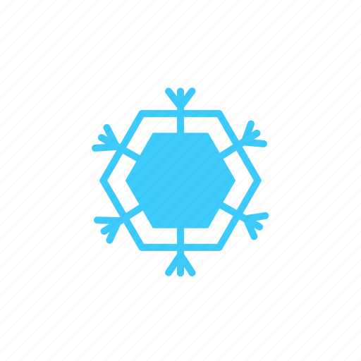 Flurries, snow flake, climate, weather, snow icon