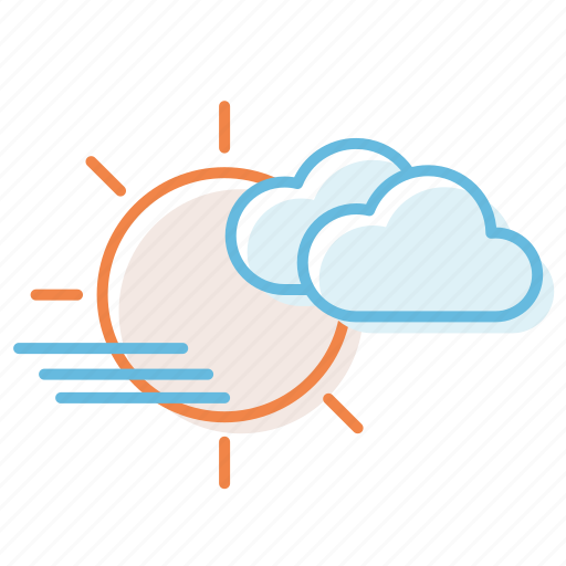 cloud, cloudy, haze, weather icon