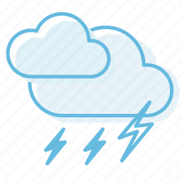 cloud, cloudy, thunderstorm, weather icon