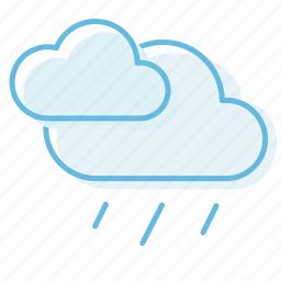 cloud, cloudy, rain, thunderstorm, weather icon