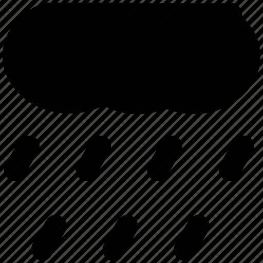 atmosphere, cloud, rain, raindrops, raining, weather icon