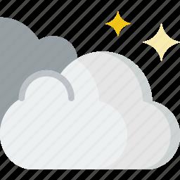 forecast, snow, weather icon