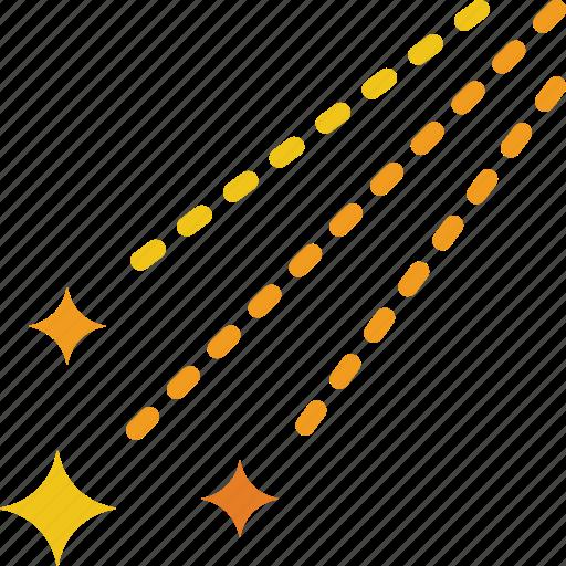 forecast, starshower, weather icon
