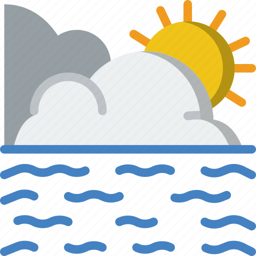 Calm, forecast, sea, weather icon - Download on Iconfinder