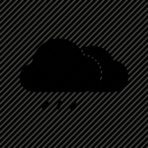 cloud, meteo, rain, rainy, sky, weather icon
