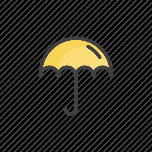 forecast, rain, save, umbrella, weather icon