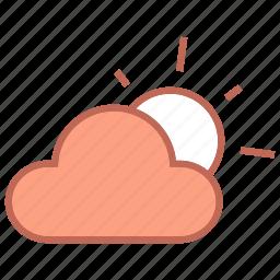 cloud, clouds, forcast, sun, weather icon