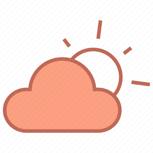 cloud, clouds, forcast, sun, weather icon