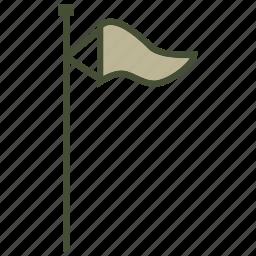 flag, forecast, weather, wind icon