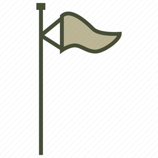 flag, forecast, weather, wind icon