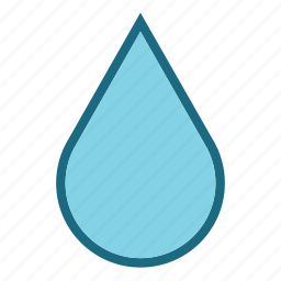drop, rain, water, water drop icon