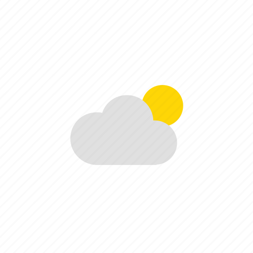 cloud, sun, weather, weathers icon