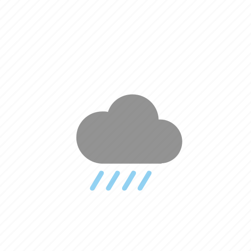 clouds, forecast, rain, weathers icon