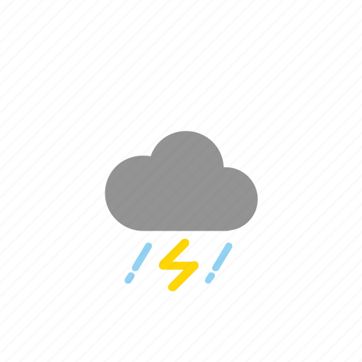 clouds, forecast, storm, weathers icon