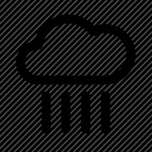 atmospheric, cloud, meteorology, pouring rain, rain, weather icon