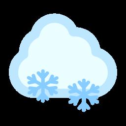 cloud, snow icon